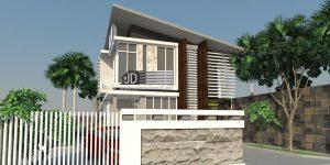 Desain Kantor Modern PT KMM Mandiri di Samarinda Kalimantan Timur