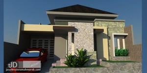 Desain Rumah Ibu Irma di Bogor Jawa Barat