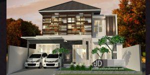 Jasa desain rumah Bapak Iskandar di Jakarta