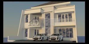 Rumah Bapak Willy Jakarta, desain rumah elegant tropis