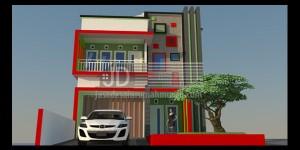 Rumah Bapak Dhani Ashadi Putra di Kalimantan Timur, desain ruko minimalis