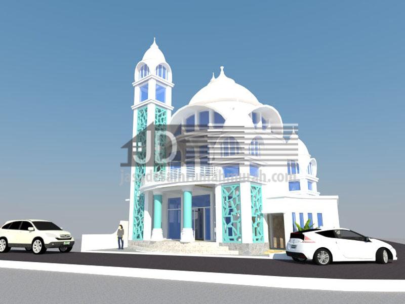 Desain Masjid warga desa Pujon Malang