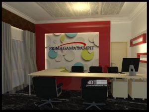 2 view desain interior front office