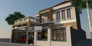 Desain Rumah Minimalis Bapak Andri Jeniawan di Jakarta