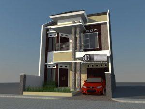 Desain Rumah Minimalis Bapak Alwi di Jakarta