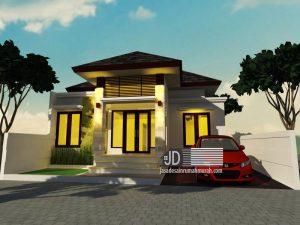 Desain Rumah Ibu Ayu Lestari di Sulawesi Selatan