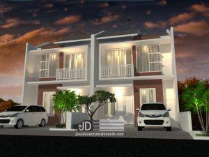 Jasa Desain Rumah Minimalis Modern Ibu Lidia di Jakarta (order ketiga)