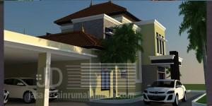 Rumah Bapak Hadi, Desain rumah mewah klasik modern