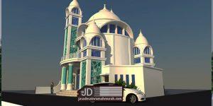 Desain Mushollah di Kasembon Malang