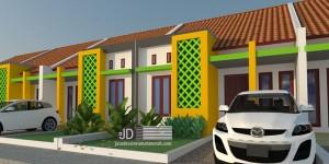 Desain perumahan Bapak Haji Sobarna di Garut Jawa Barat