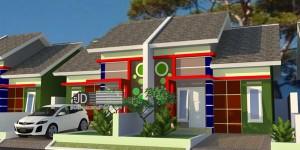 Desain perumahan tipe 45 Bapak Muhammad Zainudin