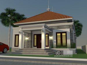 Desain Rumah Sederhana Bapak Moh Subagio di Jakarta