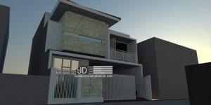 Rumah An Ismail di Malang, desain rumah minimalis modern
