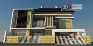 Desain Rumah Bapak Didiek Rahmadi di Cilacap, rumah minimalis mewah