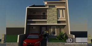 Desain Rumah Bapak Christanto di Jakarta