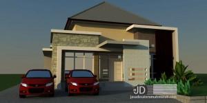 Desain Rumah Bapak Made di Sorowako Kampung Luwu Utara Sulawesi Selatan