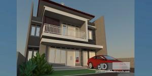 Desain Rumah Bapak Rendi Purbowo di Sidoarjo