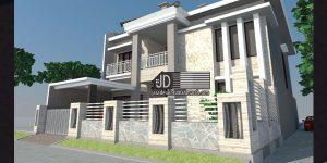 Desain Rumah Ibu Marcelly di Jakarta