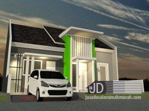 Desain Rumah Minimalis Bapak Ahmad Jaiz di Makassar