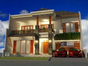 Desain Rumah Ibu Judith Kristi di Cinere Depok Jawa Barat