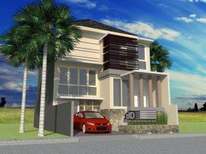 Desain Rumah Bapak Edi Sugiono di Jakarta