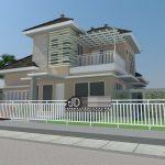 Desain Rumah Modern Tropis Ibu Yesi Yuliani di Pare-Pare Sulawesi Selatan