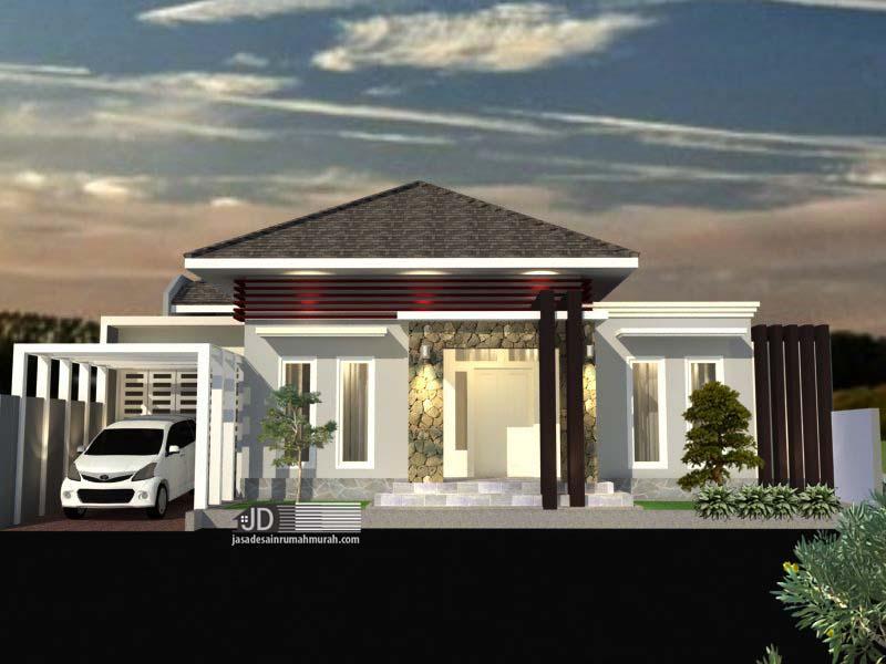 Desain Rumah Minimalis Bapak Fitri Natriawan di Jakarta