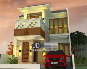 Desain rumah Bali modern, Ibu Irma di Bogor