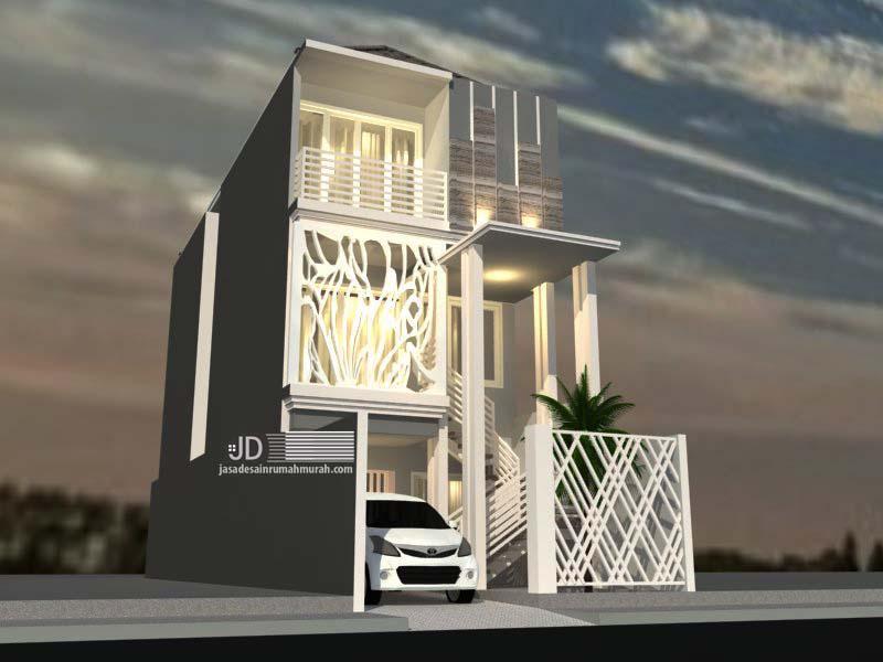 Desain Rumah Minimalis 3 Lantai Di Jakarta Bapak Hafid Jasa