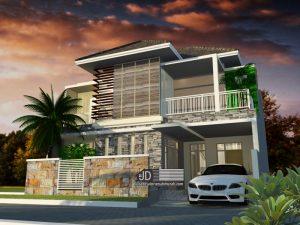 Rumah Bapak Manahan Manik di Sorong Papua (Order kedua)