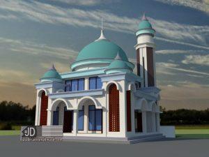 Desain Masjid di Bakir Malang