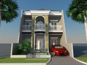 Desain Rumah Klasik Ibu Irma di Bekasi