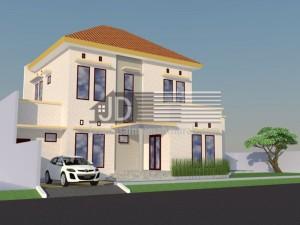 Rumah Dr. Elsa Jakarta, desain rumah tropis