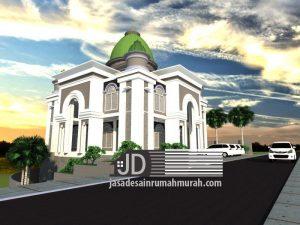 Jasa desain Masjid di Wlingi Blitar Bapak Zainal Qolis
