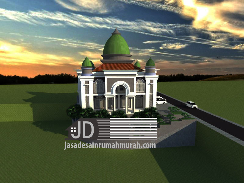 jasa desain masjid di Malang