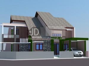 Rumah Bapak Freddy di Bogor, desain minimalis (renovasi)