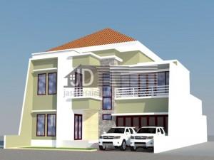 Rumah Bapak Hendra Bogor, dsain rumah 2 lantai