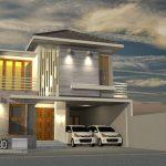 Desain Rumah Kos Bapak Suryono di Daerah Kendeng Barat Semarang Selatan