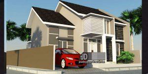 Desain Rumah Minimalis Modern Ibu Tribuana