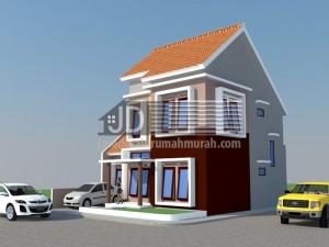 Rumah Bapak Adi di Probolinggo, desain rumah 2 lantai
