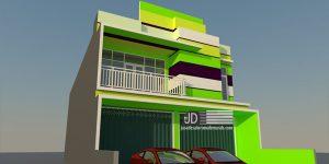 Desain Ruko Bapak Haji Zainal Sulawesi Selatan