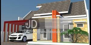 Desain Rumah Bapak Nonam, desain rumah minimalis modern 1 lantai