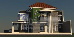 Rumah Bapak Hadi di Lampung, konsep rumah minimalis modern