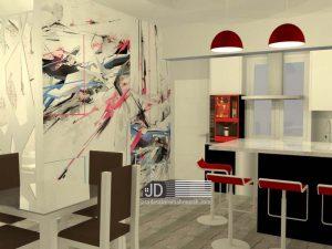 Desain Interior Dapur Bersih