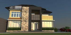 Desain Rumah Bapak Agus di Kendari Sulawesi (Revisi)