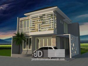 Desain Rumah Kos Bapak Arif Sudibjo di Jakarta