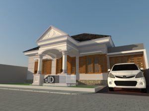 Desain Rumah Bapak Jalil Syaufi di Bengkulu