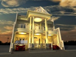 Desain Rumah Bapak Rama Gusriyanto Di Jakarta