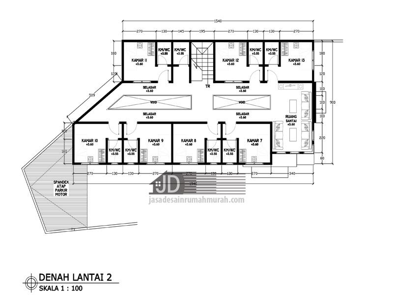 Image Result For Denah Rumah Mewah