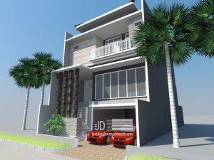 desain rumah -TROPIS- mewah